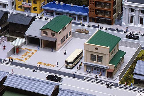 Nゲージ KATO バス営業所 23-461