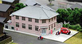 Nゲージ 地方郵便局 23-454